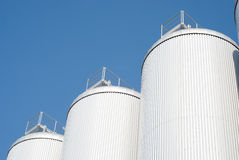Industrial Agriculture Silo Royalty Free Stock Photography