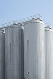 Industrial Agriculture Silo Housing Grain Stock Photos