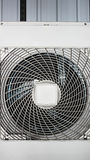 Industrial Air Con Unit Front Royalty Free Stock Photography