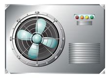 Industrial air conditioner Royalty Free Stock Photography