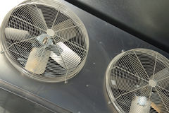Industrial air conditioner fan Royalty Free Stock Images