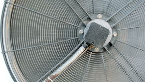 Industrial Air Conditioning Fan stock footage
