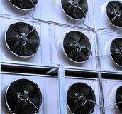Industrial Air Conditioning Royalty Free Stock Photography