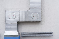 Industrial air conditioning Royalty Free Stock Images