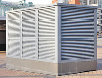 Industrial air conditioning and ventilation systems outdoor Stock Photography