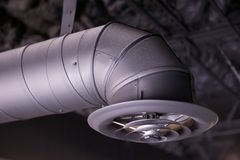 Industrial Air Duct And Vent Stock Images