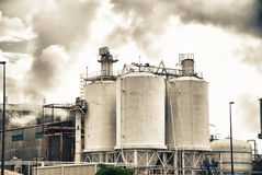 Industrial, air Pollution Stock Photo