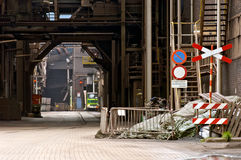 Industrial alley Stock Photography