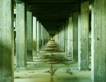 Industrial archeology Stock Photography