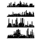 Industrial architecture Royalty Free Stock Photography