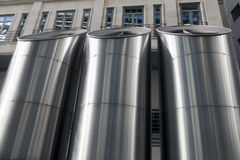 Industrial architecture of Lloyds Building, London Stock Image