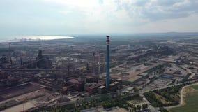 The industrial area of Taranto.