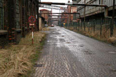 Industrial area Royalty Free Stock Photos