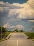 Industrial area. An Image of Industrial Area with beautiful clouds Royalty Free Stock Photography