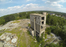 Industrial area. Land degraded by Poland industry Stock Photography