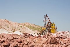Industrial Area quarry Stock Images