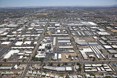 Industrial Area of Tempe Royalty Free Stock Photo