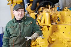 Industrial assembler worker Royalty Free Stock Photo