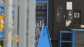 Industrial automatice el equipo almacen de video