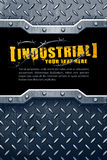 Industrial background royalty free illustration