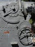 Industrial background. Detail of clockwork mechanism Royalty Free Stock Photos