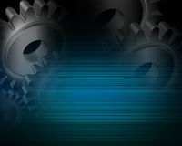 Industrial background blue Stock Photo