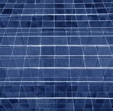 Industrial Background. Blue geometric abstract background creates and a graphic pattern with an industrial feeling Stock Photo