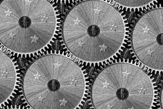 Industrial background - cogwheels Royalty Free Stock Images