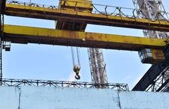 Industrial background: industrial design insulator closeup plant Stock Photo