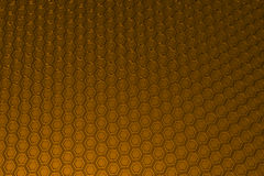 Industrial background made of metal hexagons Royalty Free Stock Photos