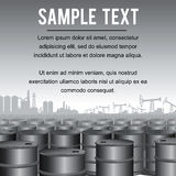 Industrial Background Template Vector Stock Photography