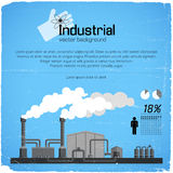 Industrial background Royalty Free Stock Photos