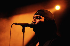 Industrial band Laibach performs live Royalty Free Stock Photo
