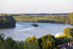 Free Industrial Barge On Danube   Royalty Free Stock Images - 47520669