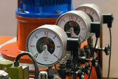 Industrial barometers Royalty Free Stock Image
