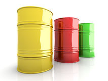 Industrial Barrels Royalty Free Stock Image