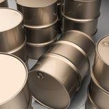 Industrial barrels Stock Images