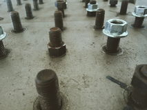 Industrial bolt Stock Photo