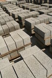 Industrial brick manufacturing Royalty Free Stock Photos