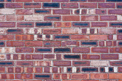 Industrial Brick Wall Royalty Free Stock Photography