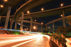 Industrial Bridge Bangkok Royalty Free Stock Photos