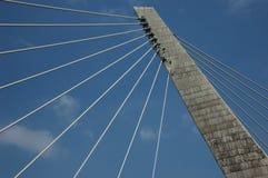 Industrial bridge Royalty Free Stock Images