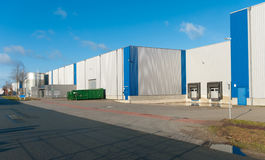 Industrial building Stock Photography