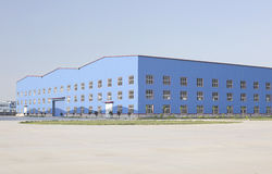 an industrial building Royalty Free Stock Photos