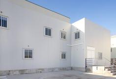 Industrial building facade Royalty Free Stock Photos
