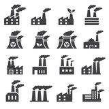 Industrial building icon Royalty Free Stock Photo