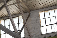 Industrial Building Interior Stock Photo