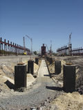 Industrial Building Site Stock Images