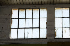 Industrial Building window Royalty Free Stock Images