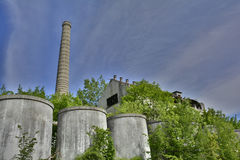 Industrial Buildings in Cividale Stock Photos